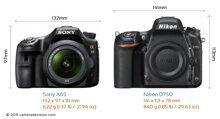 So sánh máy ảnh Sony A65 và Nikon D750