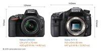 So sánh máy ảnh Sony A77 II và Nikon D5500