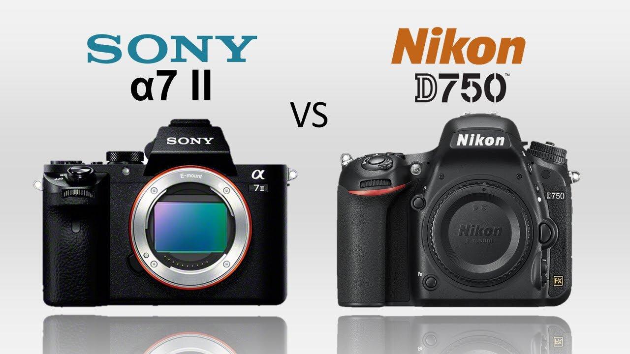 So sánh máy ảnh Sony A77 II và Nikon D750