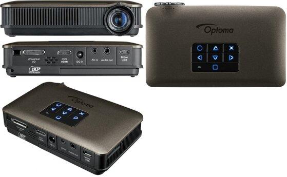 So sánh máy chiếu mini 1000 lumen Optoma ML1000 và Optoma PK320