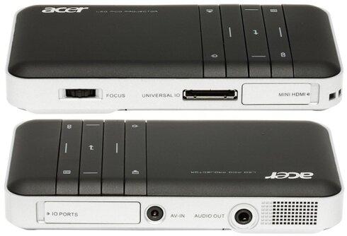 So sánh máy chiếu mini  BenQ GP10 và Acer C20