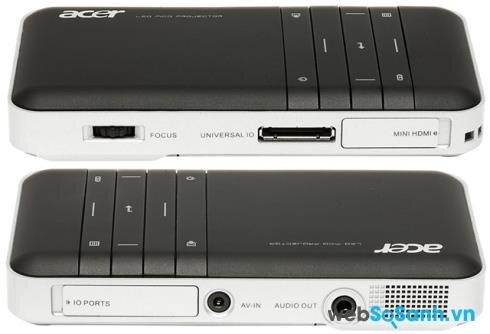 So sánh máy chiếu mini giá rẻ Acer C20 và  3M MPRO150