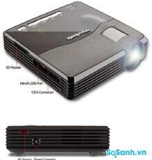 So sánh máy chiếu mini giá rẻ ViewSonic PLED-W200 và 3 M MPRO150