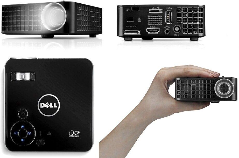 So sánh máy chiếu mini Optoma GT1080 và Dell M110