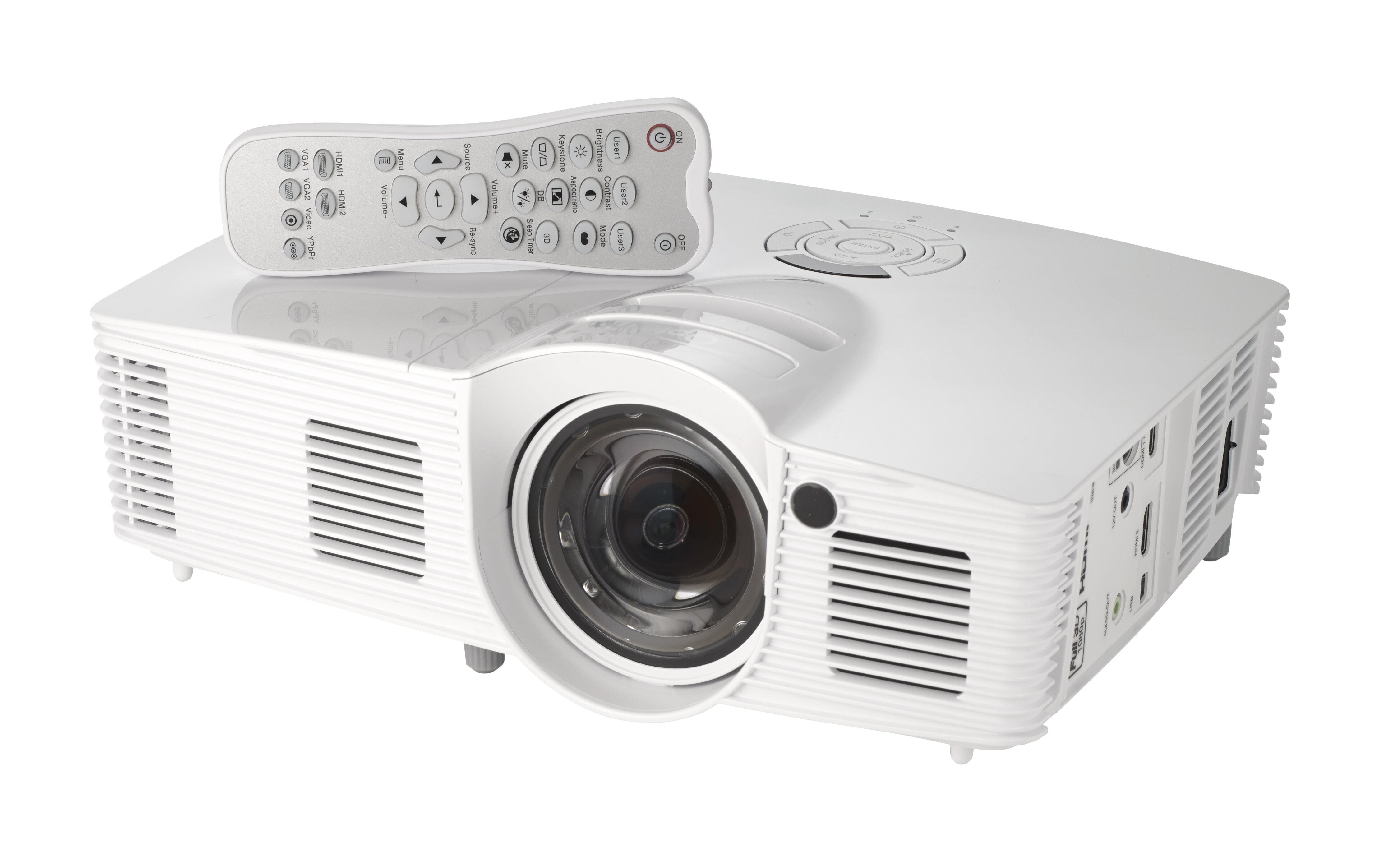 So sánh máy chiếu mini Optoma GT1080 và ViewSonic PJD5533w