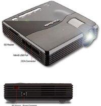 So sánh máy chiếu mini UNIC UC40 và ViewSonic PLED-W200