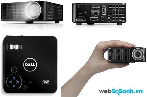So sánh máy chiếu mini ViewSonic PLED 800 và Dell M110