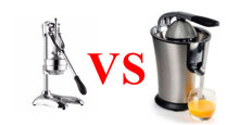 So sánh máy ép cam bằng inox và máy vắt cam chạy điện : Nên chọn mua loại nào để kinh doanh nước ép cam tươi nguyên chất 100% ?