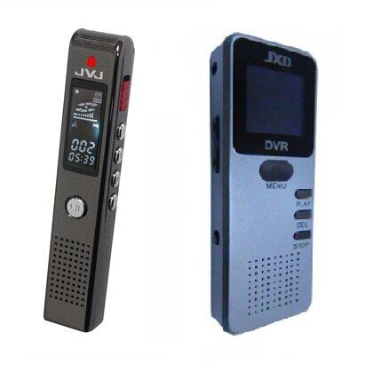 So sánh máy ghi âm JVJ DVR300 vs máy ghi âm JXD DVR750