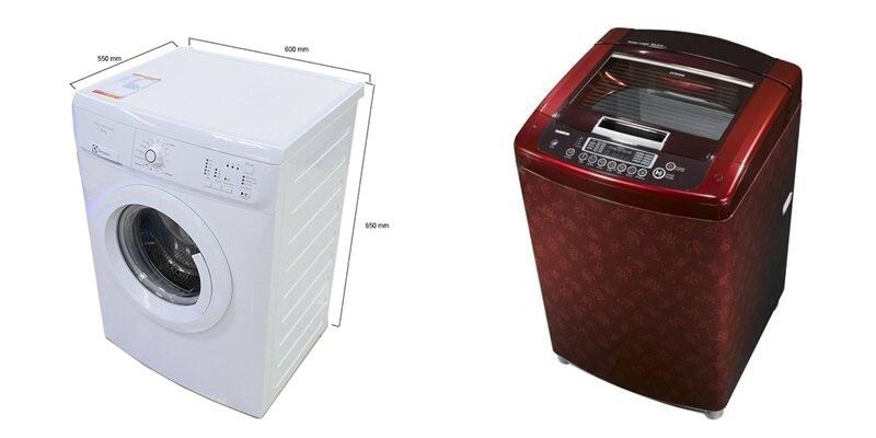 So sánh máy giặt Electrolux EWP85662 và LG WF-S8019TR