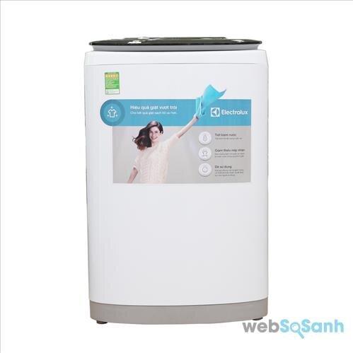 So sánh máy giặt lồng đứng 5 triệu Electrolux EWT8541 và Toshiba AW8970SV