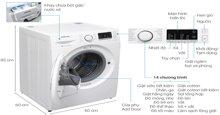 So sánh máy giặt lồng ngang inverter 8kg Samsung WW80K5410WW và Samsung WF792U2BKWQ/SV