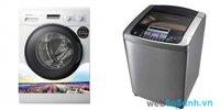 So sánh máy giặt Panasonic NA-107VC4WVT và LG WF-D9515DD