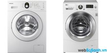So sánh máy giặt Samsung WW80H5290EW/SV và máy giặt LG WD14600