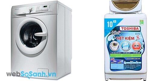 So sánh máy giặt Toshiba AW-B1100GV và Electrolux EWF8555