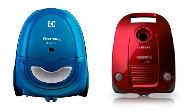So sánh máy hút bụi Electrolux ZMO1530 và máy hút bụi Samsung VCC4170