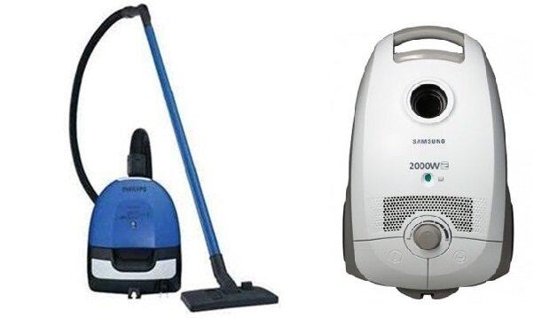 So sánh máy hút bụi Philips FC8204 và máy hút bụi Samsung VCC5675V3W
