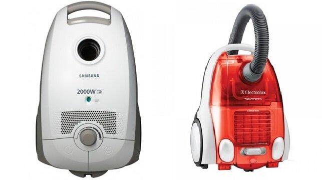 So sánh máy hút bụi Samsung VCC5675V3W và máy hút bụi Electrolux Z1760