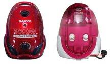 So sánh máy hút bụi Sanyo SC-185R và máy hút bụi Sanyo SC-DB50