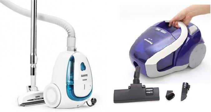 So sánh máy hút bụi Sanyo SC-D33F và máy hút bụi Panasonic MCCL431