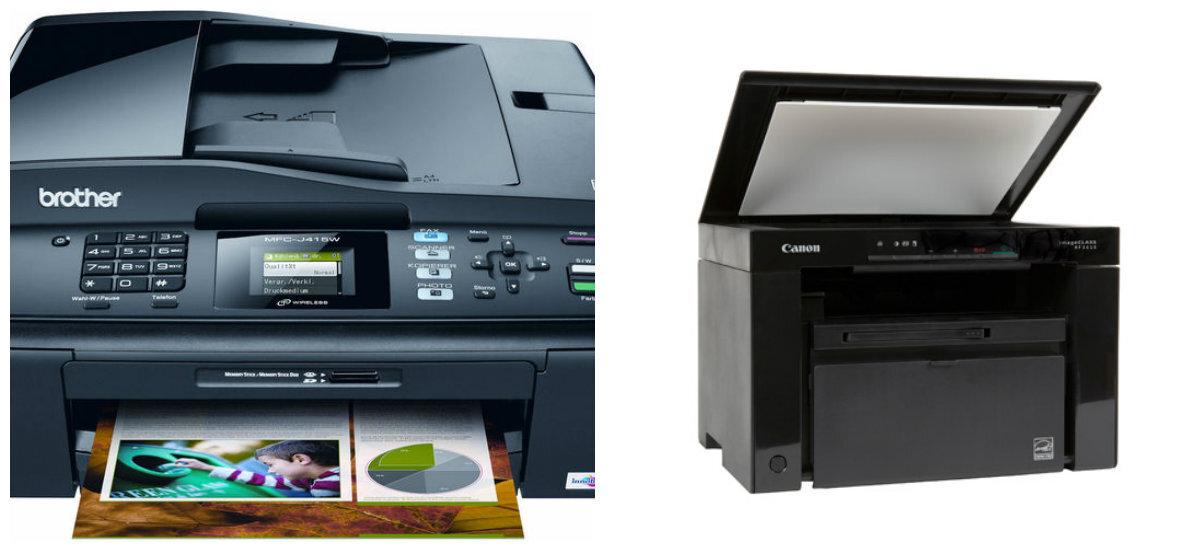 So sánh máy in Canon imageClass MF3010 và Brother MFC-J415W
