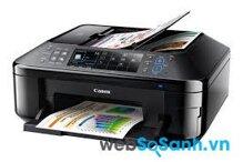 So sánh máy in có scan, fax Canon Pixma MX892 và Ricoh Aficio SP C240SF