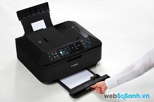 So sánh máy in có scan, fax Canon Pixma MX892 và HP Officejet Pro X476
