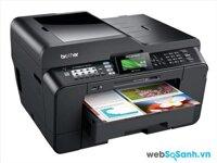 So sánh máy in khổ lớn HP OfficeJet 7610 và Brother MFC J7610dw