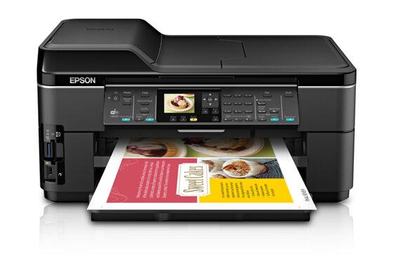 So sánh máy in khổ lớn HP OfficeJet 7610 và Epson WF 7510