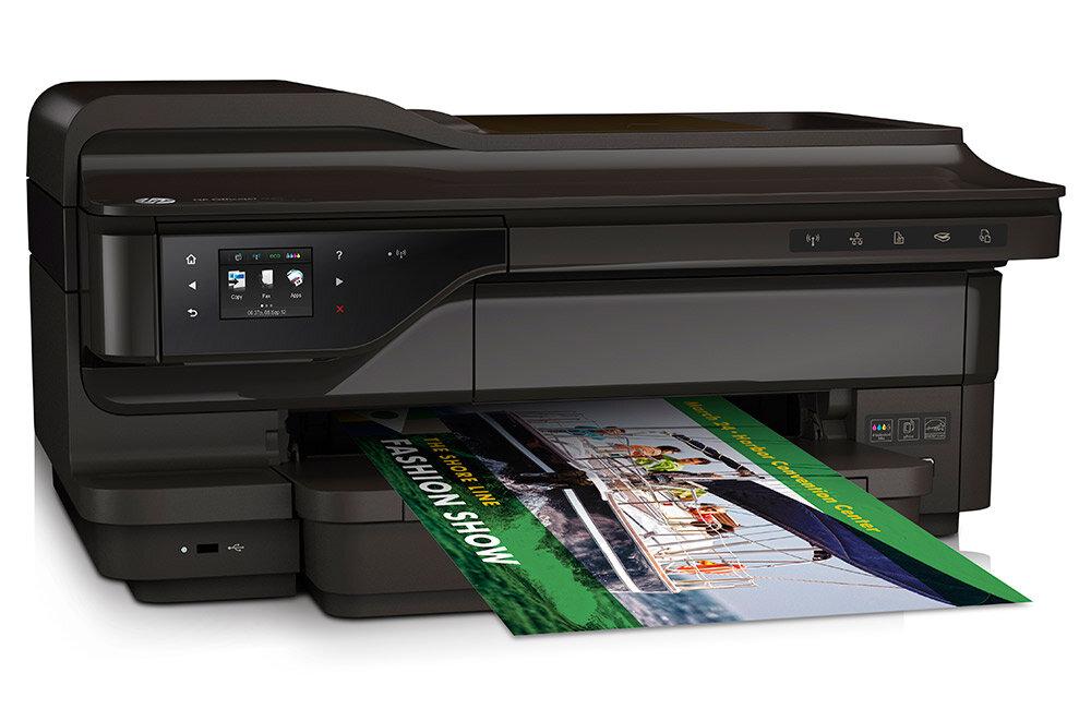 So sánh máy in khổ lớn HP OfficeJet 7610 và Brother MFC 6710