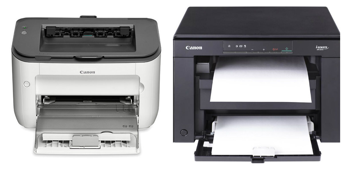 So sánh máy in laser Canon imageClass LBP6200d và Canon imageClass MF3010