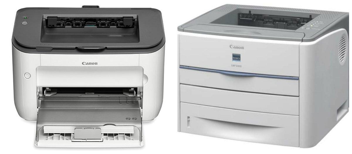 So sánh máy in laser Canon imageClass LBP6200d và Canon LBP 3300