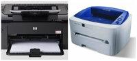 So sánh máy in laser cho văn phòng nhỏ HP P1102W và Fuji Xerox P3155