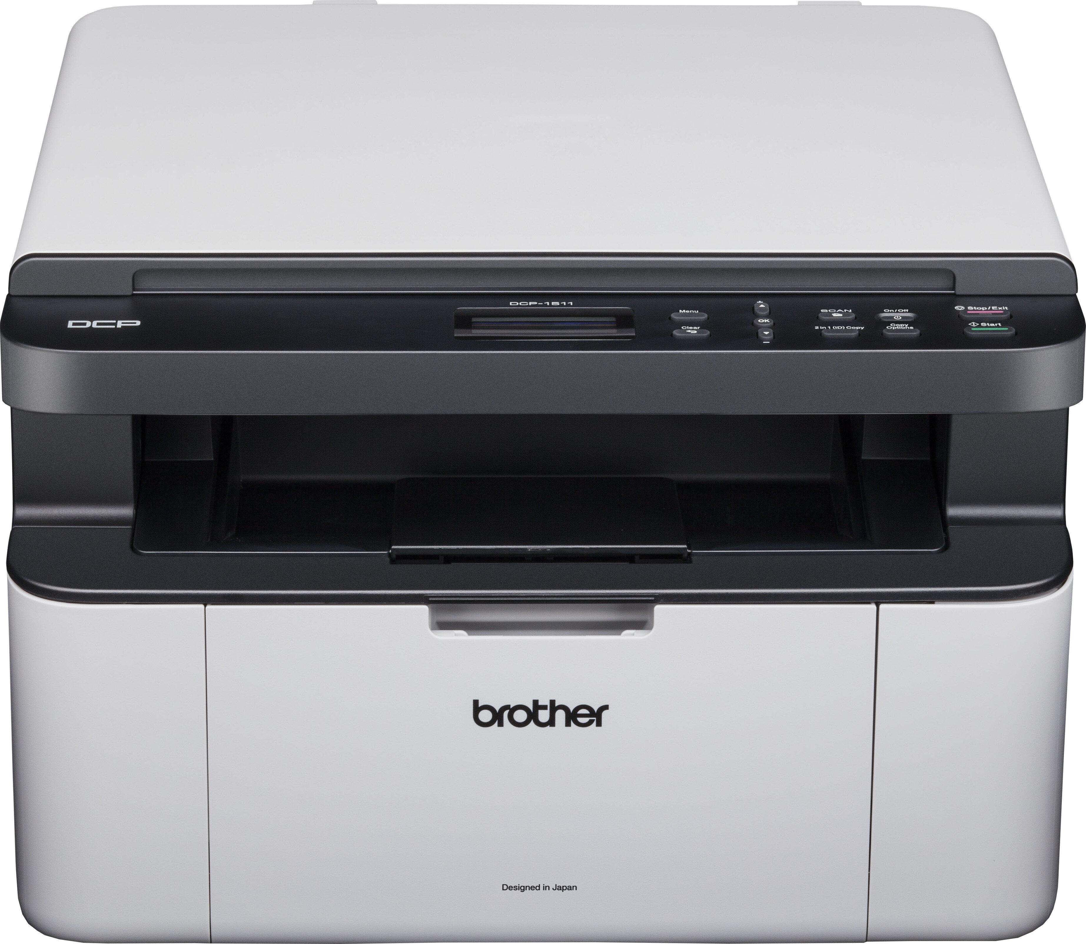 So sánh máy in laser đa chức năng giá rẻ Brother MFC – J415W và Brother DCP 1511