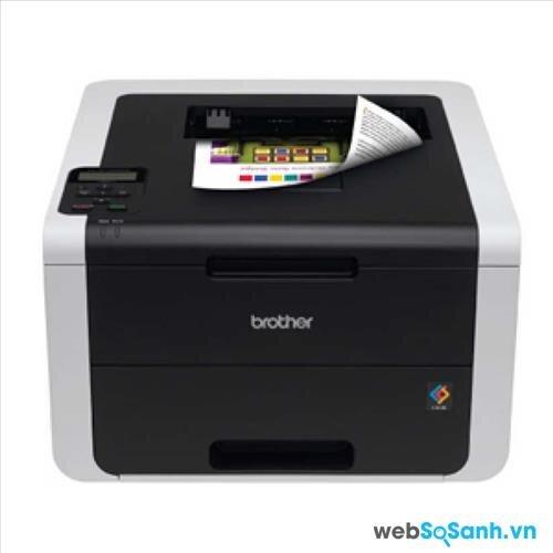 So sánh máy in laser đen trắng giá rẻ Brother HL-3710CDW và Brother-HL-2140