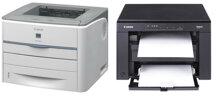 So sánh máy in laser đen trắng Canon imageClass MF3010 và Canon LBP 3300