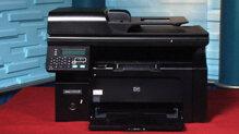 So sánh máy in laser đen trắng có photo, scan, fax HP LaserJet Pro M1212nf và Canon MF4750