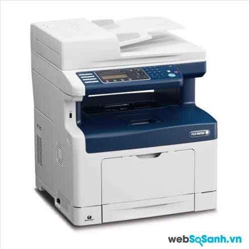 So sánh máy in laser màu có scan, fax hiệu suất cao Fuji Xerox DocuPrint 355df và Brother MFC 9120CN
