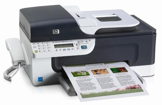 So sánh máy in laser màu có photocopy, scan, fax Canon MF4750 và HP Officejet J4660