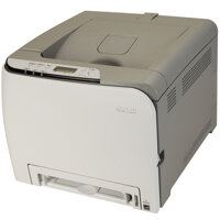 So sánh máy in laser màu giá rẻ HP CP1025 và Ricoh SP C240DN