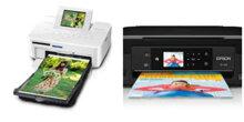 So sánh máy in màu Canon Selphy CP810 và Epson XP-420