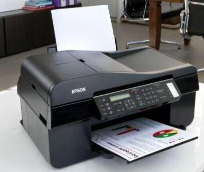 So sánh máy in màu có scan, fax Epson Stylus TX510fn và Ricoh Aficio SP C240SF