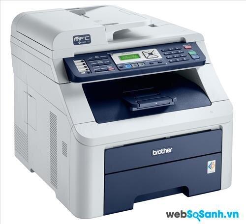 So sánh máy in màu có scan, fax Canon Pixma MX892 và Brother MFC 9120cn