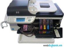 So sánh máy in màu có scan, fax giá rẻ Epson Stylus TX510fn và HP Officejet J4660