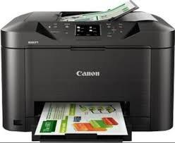 So sánh máy in phun màu có scan, fax Epson Stylus TX510fn và Canon Maxify MB5070