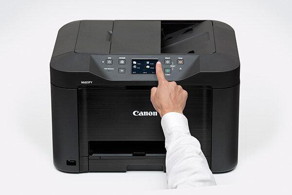 So sánh máy in phun màu có photocopy, scan, fax Canon MF4750 và  Canon Maxify MB 5070