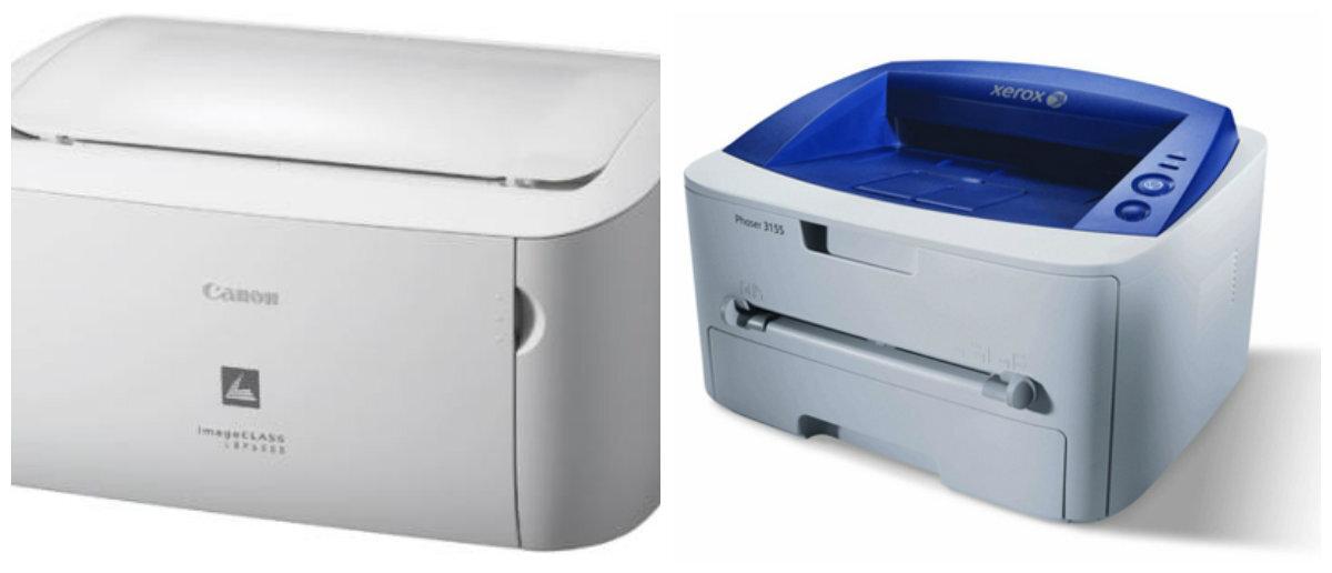 So sánh máy in văn phòng nhỏ Canon Lbp 6000 và Fuji Xerox 1511