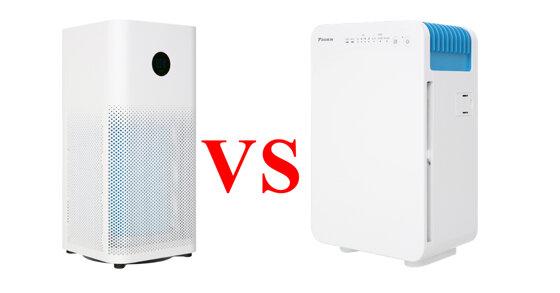 So sánh máy lọc không khí Xiaomi và Daikin giá dưới 5 triệu : Nên lựa chọn máy lọc nào cho gia đình thì tốt hơn ?