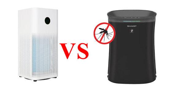 So sánh máy lọc không khí Xiaomi và Sharp giá dưới 5 triệu : Nên lựa chọn máy lọc nào cho gia đình thì tốt hơn ?