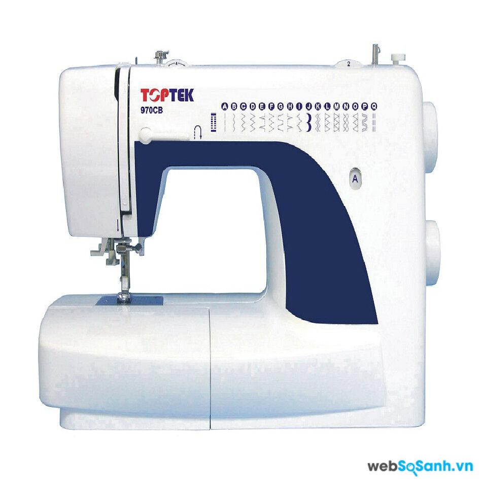 So sánh máy may Toptek 970 CB và Brother AS 1430